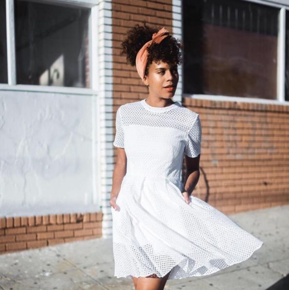 #mylook #springstyle #summerstyle #lookoftheday #currentlywearing #todaysdetails #getthelook #wearitloveit #whitedress #dress