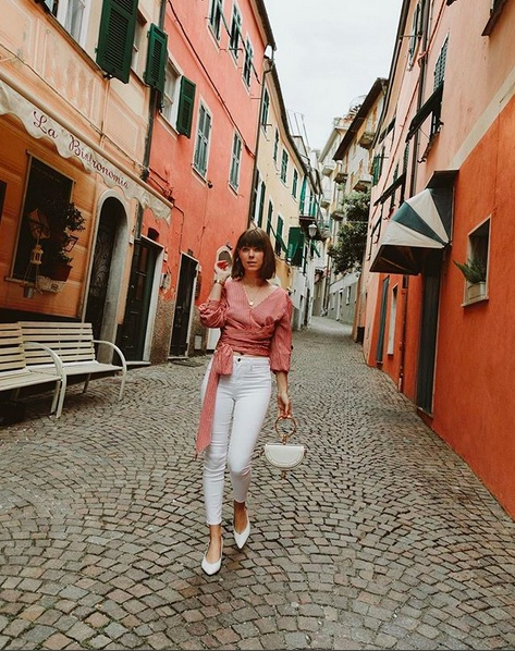 I wore in Italy now live on the Shop My Instagram page of my blog. Link in my bio ❤️🇮🇹🍕  #italy #caio #chrisellexjoa #OOTD