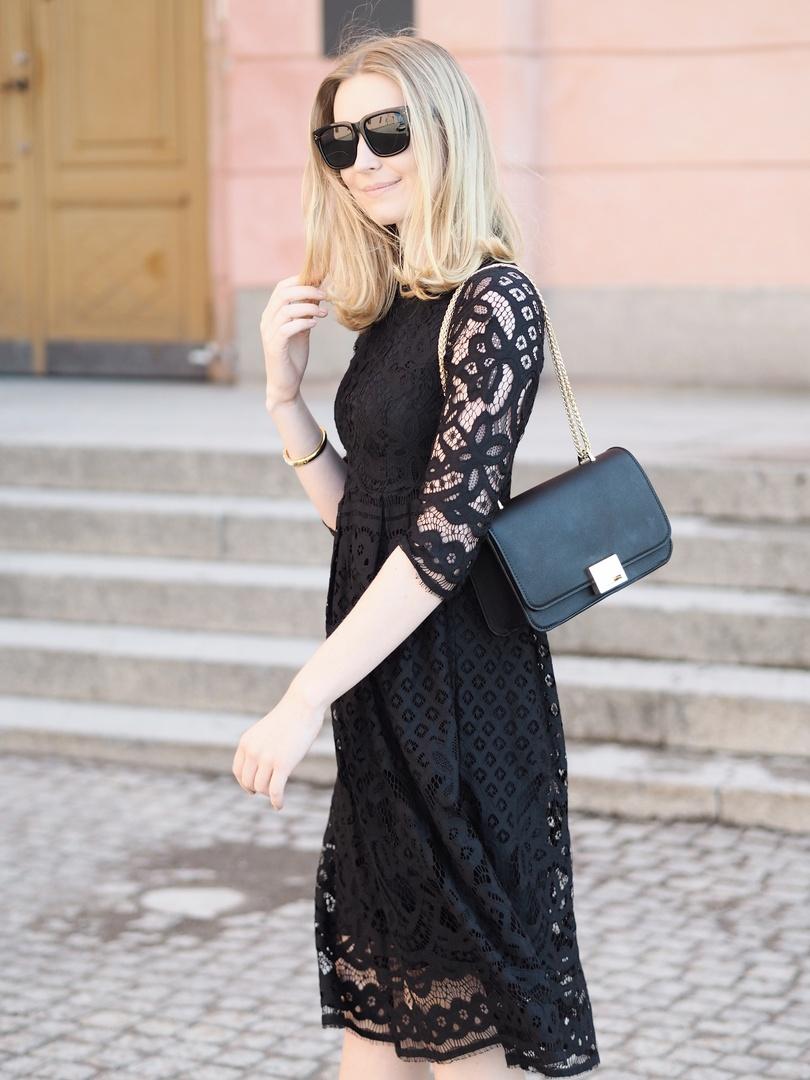 #solovelybysophie #blackdress #lbd #mididress #lacedress #ShopStyle #shopthelook #SpringStyle #MyShopStyle #SummerStyle #OOTD