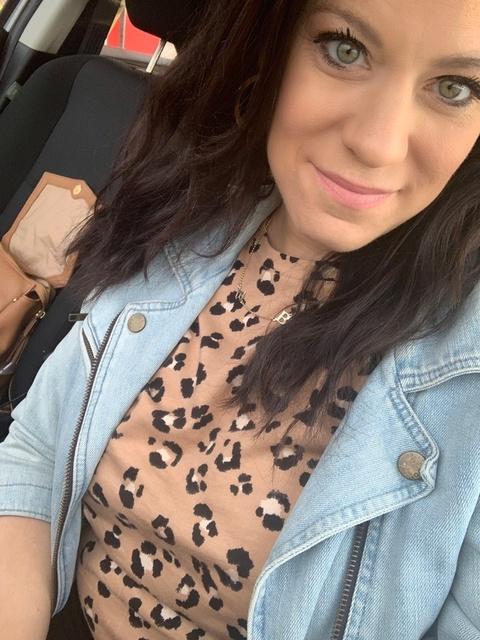 The cutest $15 leopard tee🐆jean jacket is my absolute favorite- oldie but goodie 🖤