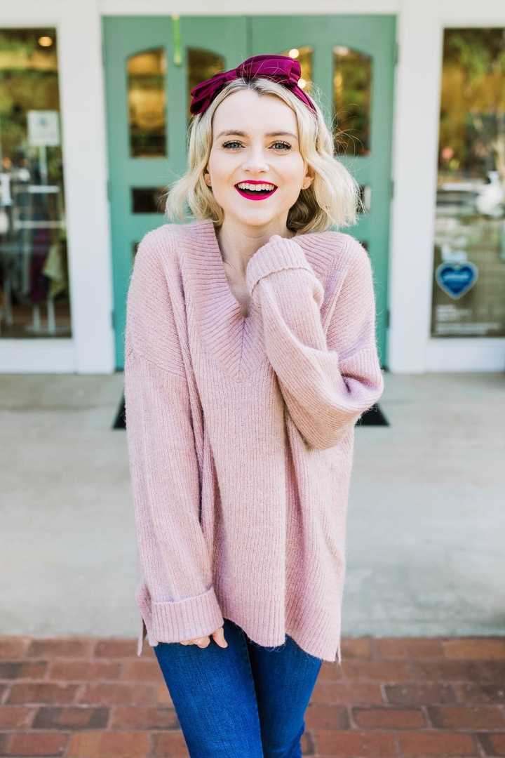 Look by Cathy Peshek featuring H&M - Oversized Sweater - Brown