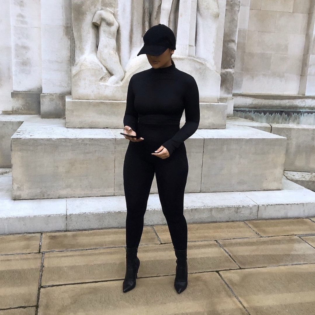 Look by treceefabulous featuring C by Bloomingdale's Cashmere Turtleneck Sweater - 100% Exclusive