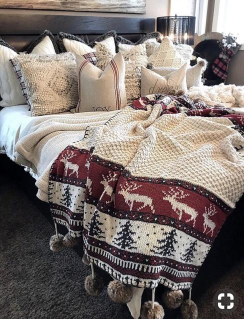 Christmas bedding #ad