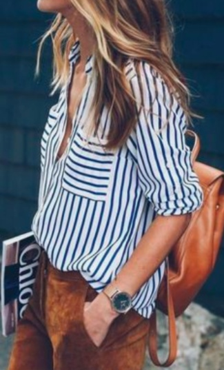 STRIPED SHIRTS FOR SUMMER CHIC #fashion #summer #summerstyle #styleguide #stripe #shirts #casual #casualchic #MyShopStyle