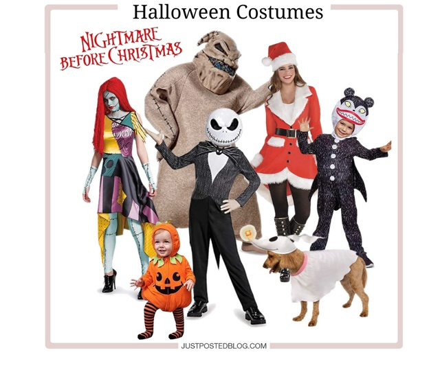 Nightmare Before Christmas Family & Group Costume