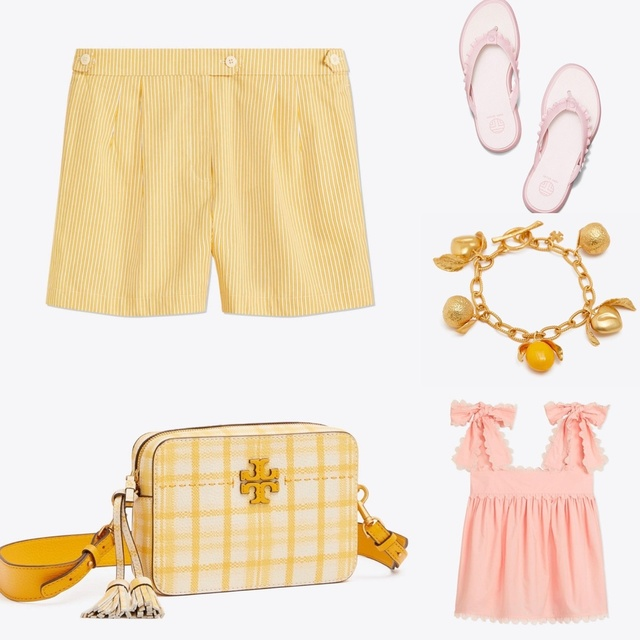 #annarbor #denver #sistercousins #family #cutemom #summerstyle #pinklemonade #toryburch #toryburchsemiannualsale #MyShopStyle