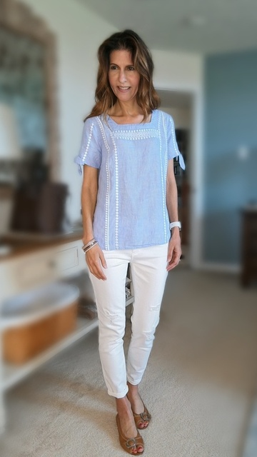 with shorts or skinnies. So cute. #myeastcoaststyle #pghfashionblogger #fashionblogger #summerfashion #ShopStyle #MyShopStyle