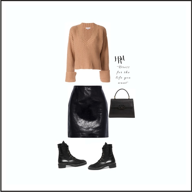 Leather Skirt for all body Types