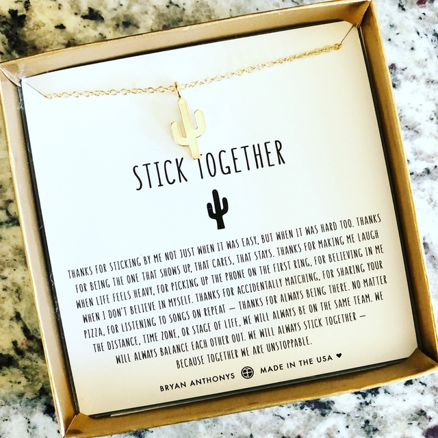 friends stick together <3 #ShopStyle #MyShopStyle #ContributingEditor #Holiday #Winter #Lifestyle #jewelry #gifts #friendship