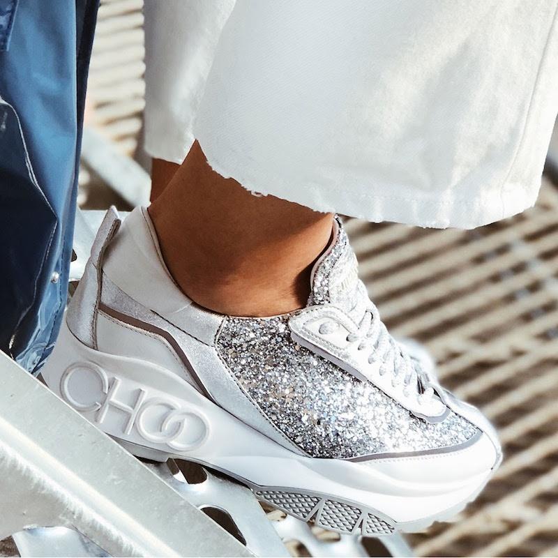 Featuring Jimmy Choo Sneakers