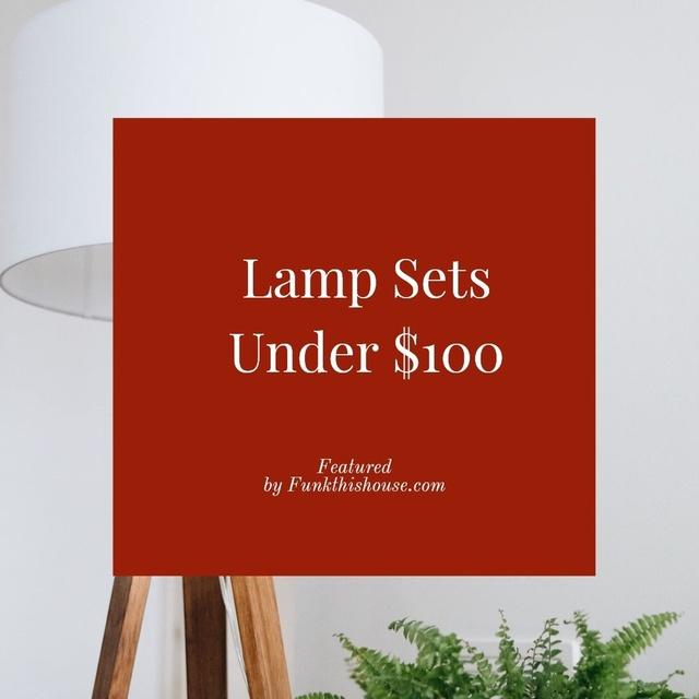 Lamps Sets Under $100