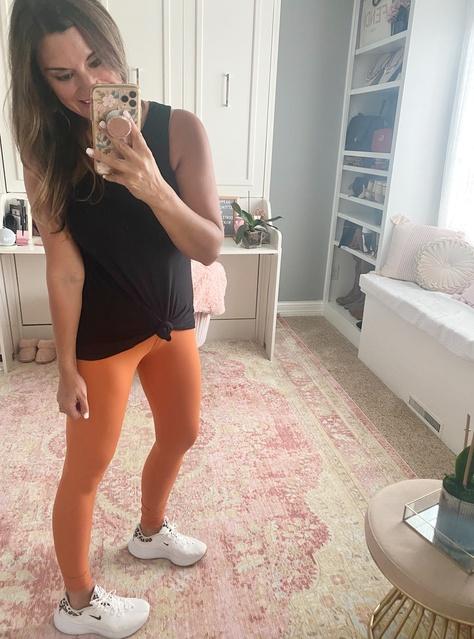 tank and leggings. #justpostedblog #ShopStyle #shopthelook #MyShopStyle #OOTD #LooksChallenge #ContributingEditor #Lifestyle