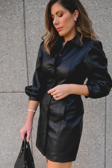 s is gorgeous with its balloon sleeves.  #myshopstyle #fallstyle #shopstyle #LooksChallenge #ContributingEditor #TrendToWatch