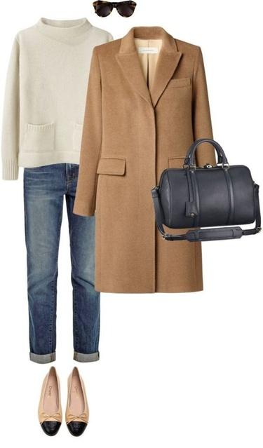 ack weekender bag!!  Weekend travel fashion #FallFashion #WoolCoat #BusinessCasual #ShopStyle #shopthelook #WeekendLook #OOTD