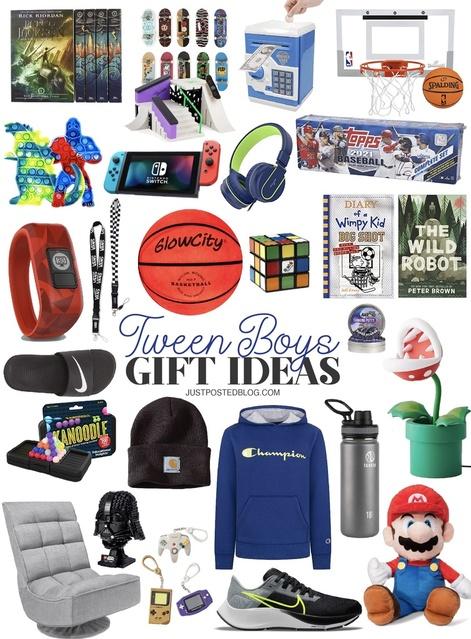 Tween Boy Gift Ideas!