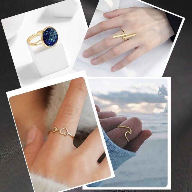 #rings for days at $1!