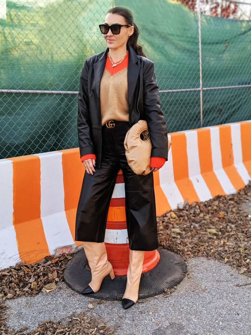 Look by Yana Echko featuring Steve Madden Large Curb Chain Magnetic Closure Collar Necklace