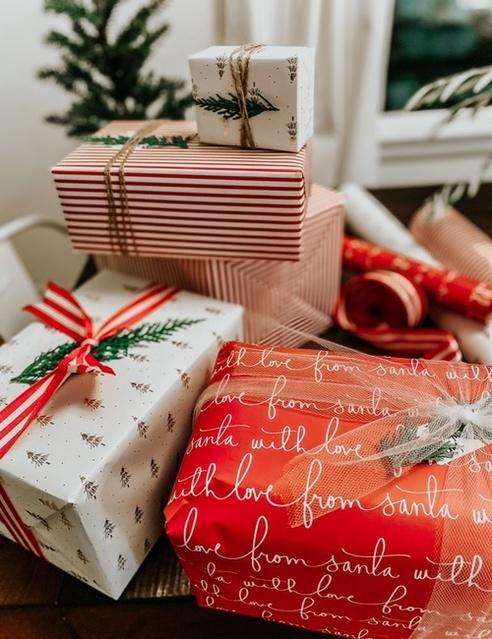 Christmas gift wrap 🎁