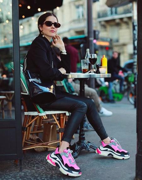 Featuring Balenciaga Sneakers