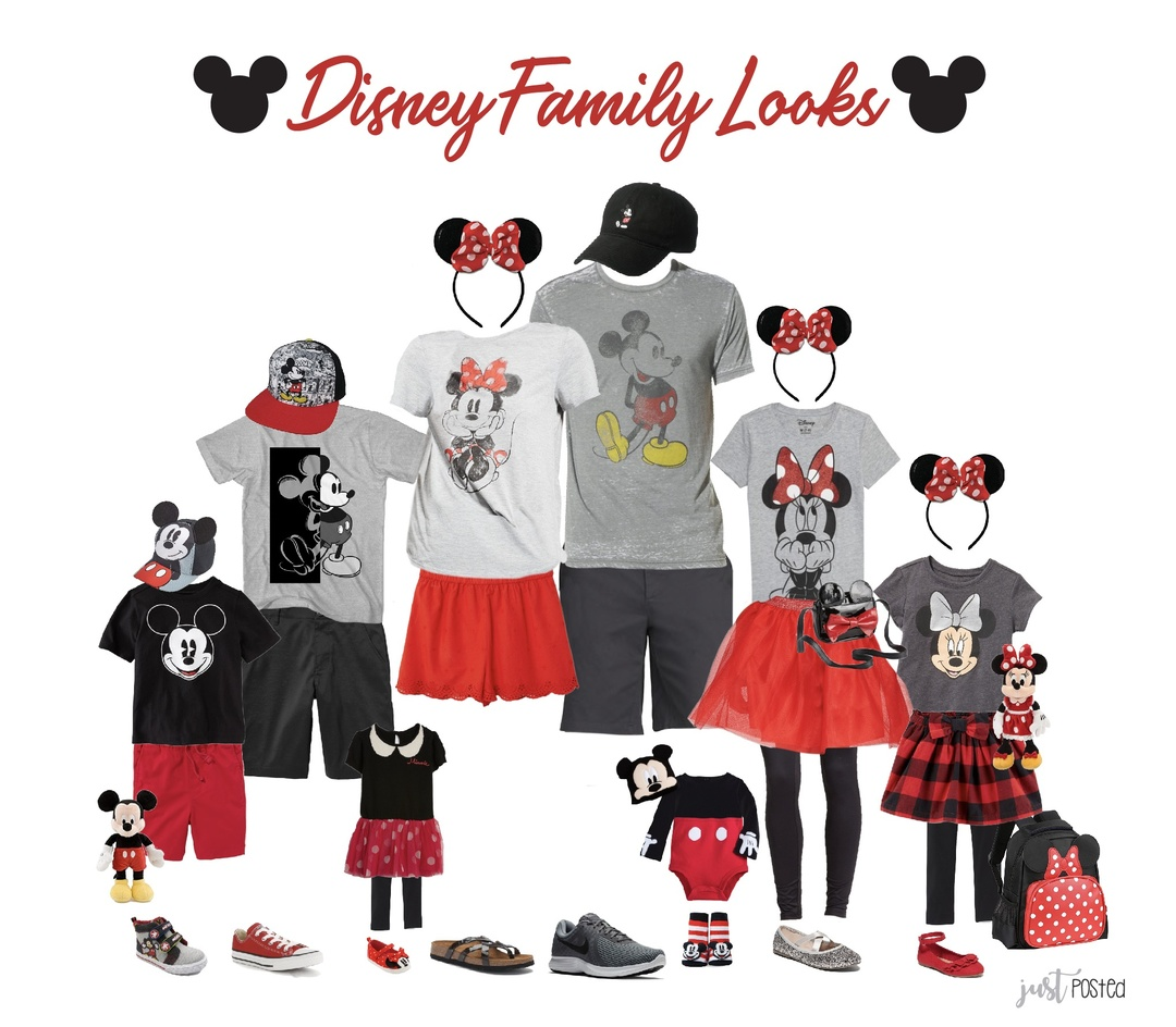 Look by Just Posted featuring DISNEY Disney Collection Girls Crew Neck Short Sleeve Minnie Mouse Graphic T-Shirt - Preschool / Big Kid