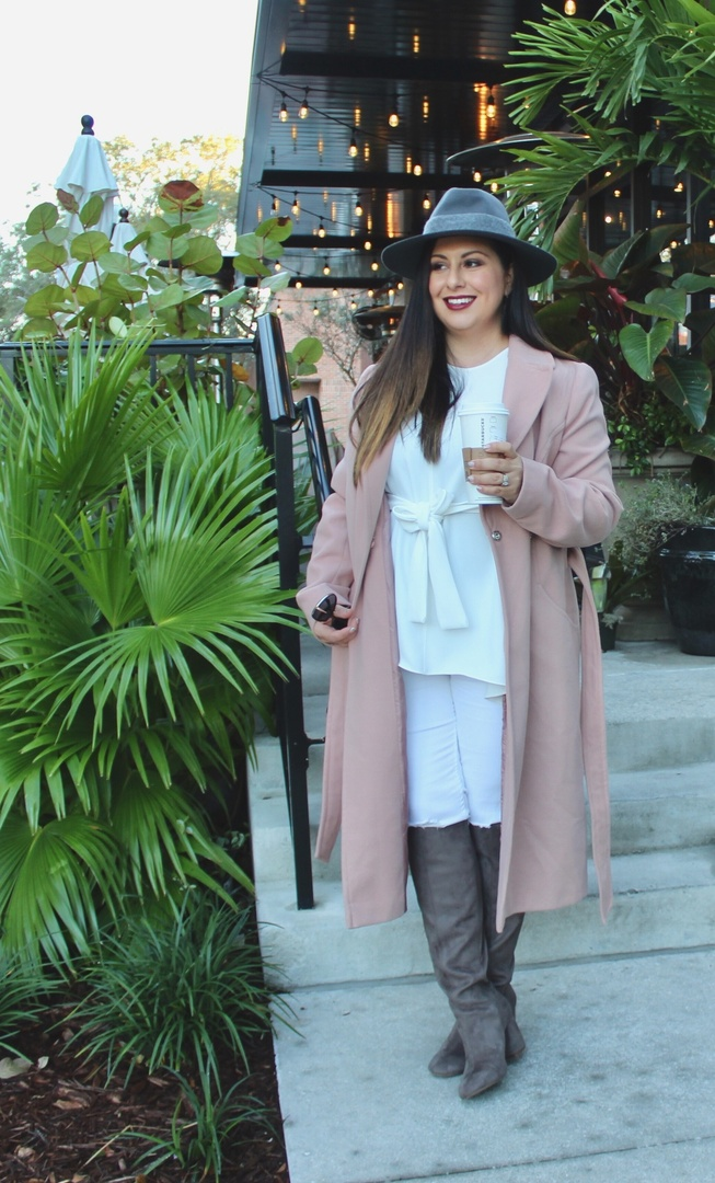 Brrr it's cold outside!! I know everyone in Florida is mad about the cold being here all week but I'm loving it! I love that I get to wear these awesome boots i bought from the Nordstroms sale! #ShopStyle #ssCollective #ootd #mylook #lookoftheday #currentlywearing #zara #winterlook #hats #boots #plussize