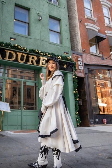 Parisian feels in NYC #ShopStyle #MyShopStyle #Winter #Lifestyle #paris #macaron #laduree