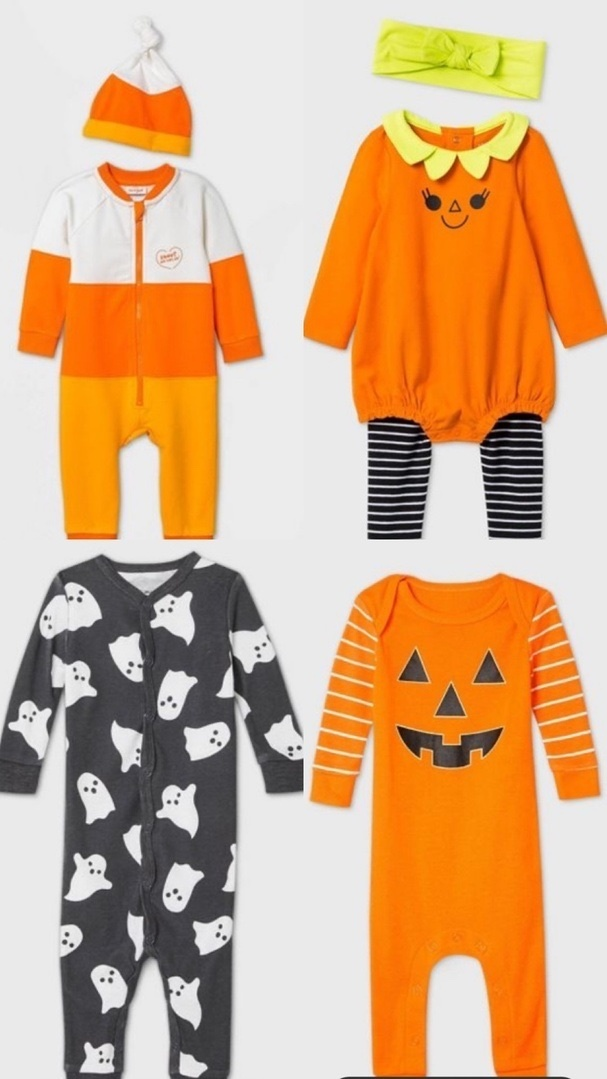 Look by Kristi Hemric featuring Baby Halloween Skeleton Matching Family Union Suit - Black