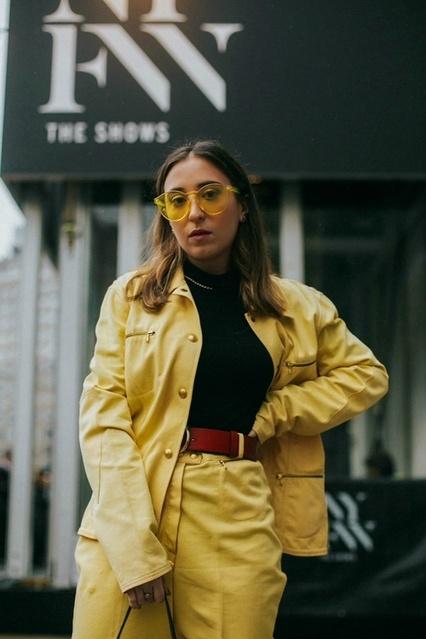 Mellow Yellow #nyfw #vintage #gucci