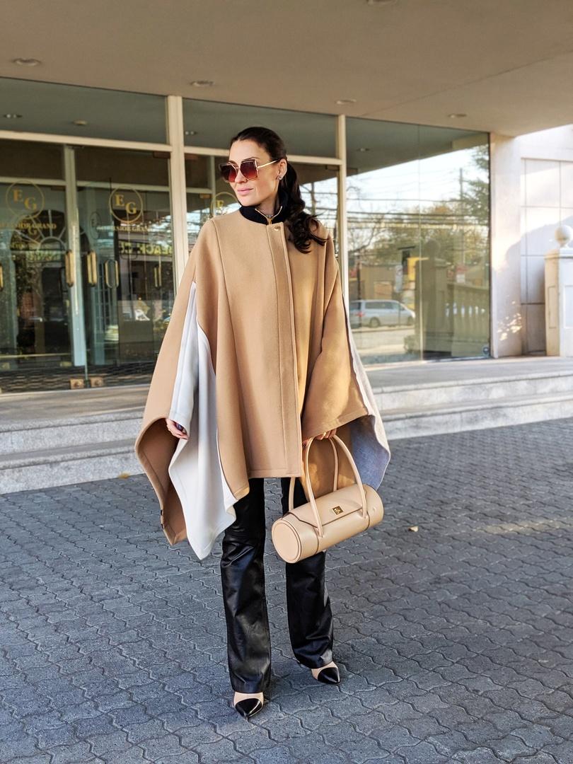 Look by Yana Echko featuring London Bag