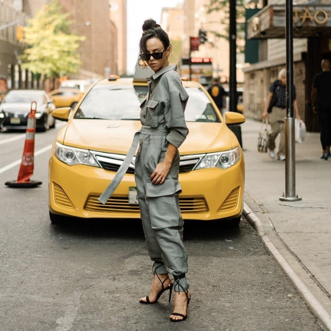 Functional Fashion #ShopStyle #MyShopStyle #ContributingEditor #TrendToWatch #ootd #jumpsuit #nyc #nyfw