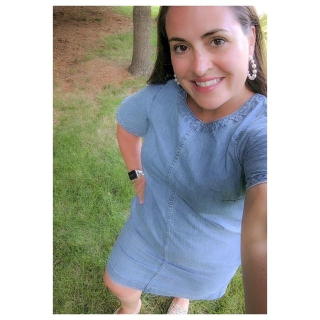 ily #cutemom #summerstyle #jcrew #denimandpearls #summerstyle #lucca #republicongrand #girlfriends #momsnightout #MyShopStyle