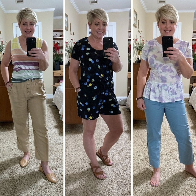 Casual summer clothes #ShopStyle #MyShopStyle #fashionover40 #summerstyle
