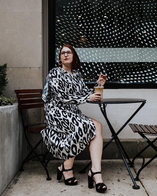 Leopard is a neutral. 🐆 #dress #ronnykobo