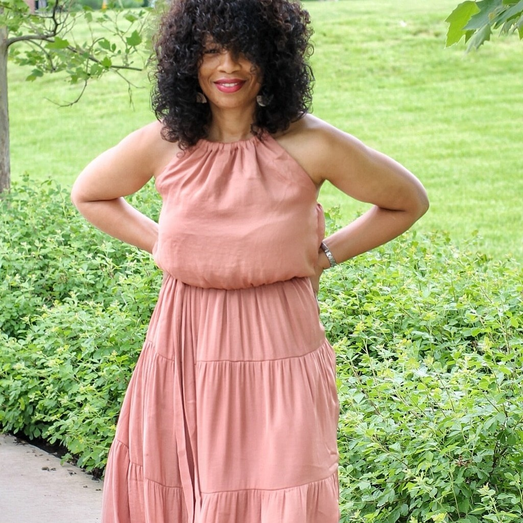 Maxi dress season is officially upon us. I've linked some of my favorite halter maxi dresses.