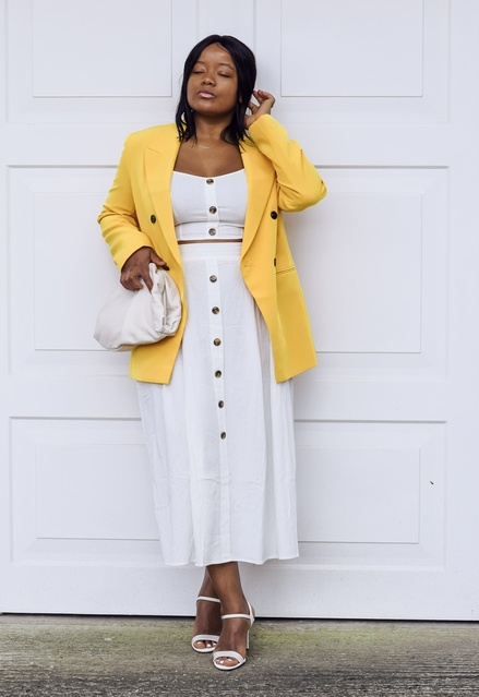 To Stand Out in White #summerwhite #summeryellow #MyShopStyle #ShopStyle #LooksChallenge #Lifestyle #calyciousloves