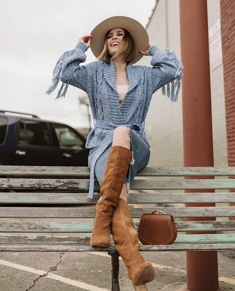 Look by uptownwithellybrown featuring Tularosa Shane Cardigan