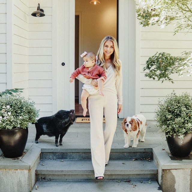 A pig, a dog, and a baby walk into a bar.... #MyShopStyle #ShopStyle #LooksChallenge