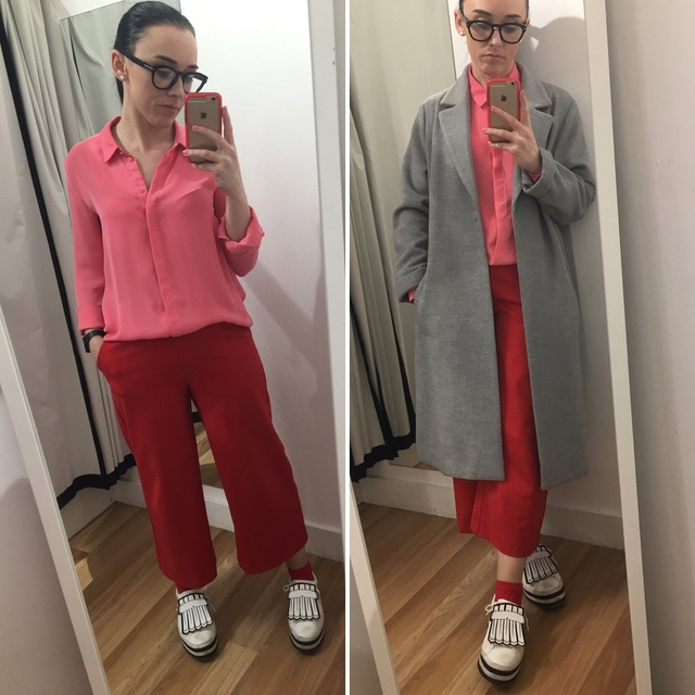 ck colours for today's smart casual look  #ShopStyle #MyShopStyle #mystyle #mylook #ss #smartcasual #ootd #pinkandred #redand
