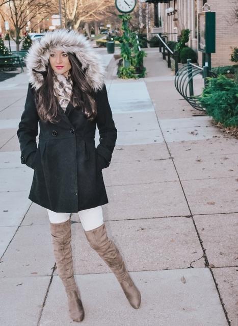 t! #winterwhite #contributingeditor #whitejeans #otkboots #overthekneeboots #winter2019 #ShopStyle #MyShopStyle #TrendToWatch