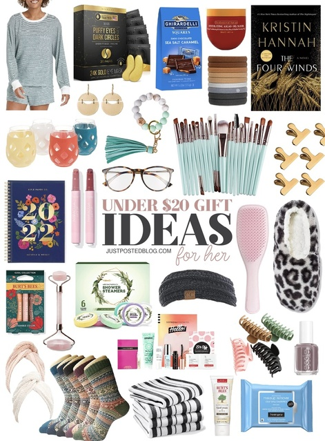 Gift Ideas all under $20! Some of these would make perfect stocking stuffers or teacher gifts!