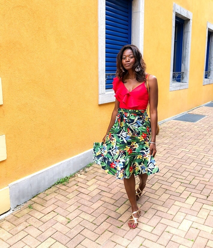 Vibrant colors and tropical prints make me feel already like I was on vacation. See my picks inspired by Havana to adds a pinch of exotic touch to your spring summer outfits. #ShopStyle #MyShopStyle #LooksChallenge #ContributingEditor #Vacation