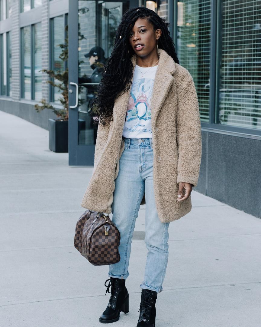 Look by Bethany Everett featuring Z Supply Teddy Bear Coat