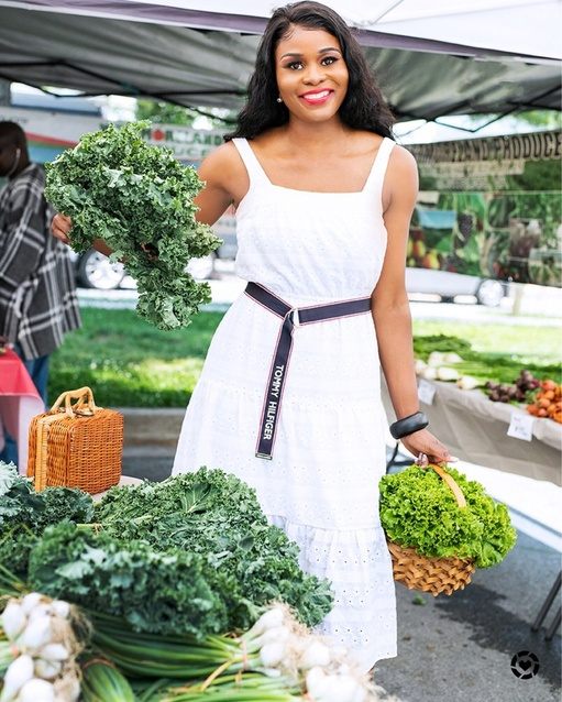 My Farmers market fashionable look. #ShopStyle
