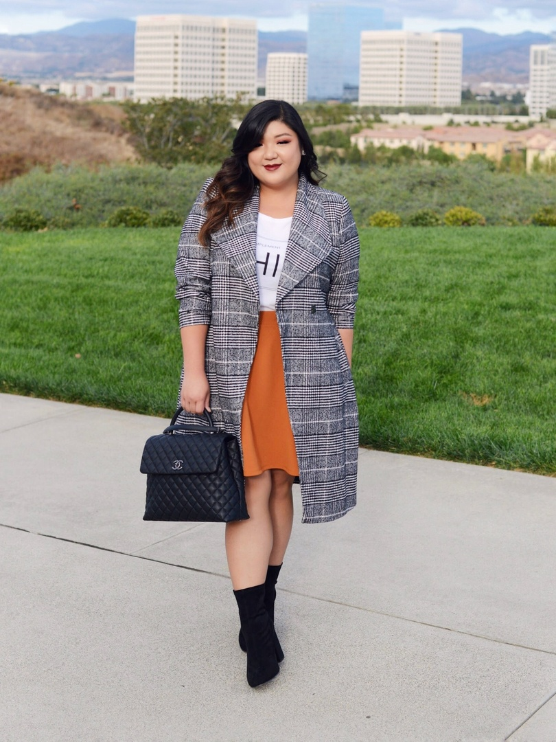 Check, please! Living for this plaid coat thrown over any outfit to add immediate warmth and to pull a casual look together! #ad #ad #ShopStyle #shopthelook #WeekendLook #OOTD