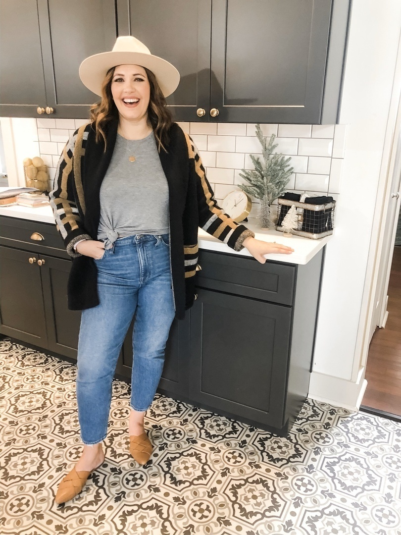 Look by Rebecca Wattenschaidt featuring Anthropologie Ferna Plaid Sweater Coat