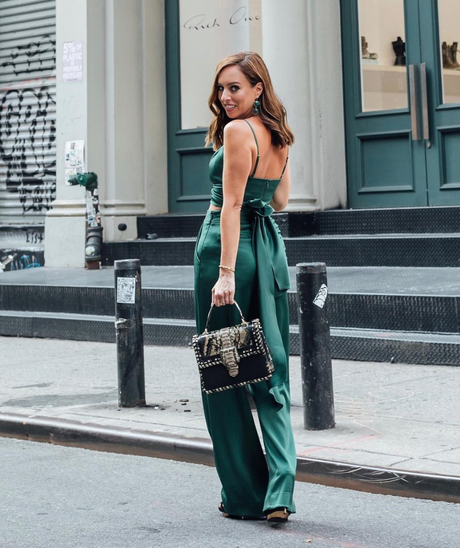 Emerald jewel tones for the holidays #ShopStyle #shopthelook #holidaystyle #OOTD