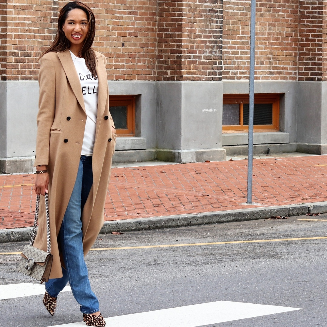 I like to wear neutrals all year round, they instantly make a basic look more refined.   Tan, camel, and beige, are always in style so this is also a great place to invest. Shoes, handbags, coats, and some of my more expensive clothing items I purchase in a neutral shades to get the most use out of them. #ShopStyle #MyShopStyle #LooksChallenge #Winter #ContributingEditor #Travel #TrendToWatch #thechicscript #nolablogger #nolafashion #fashionblogger #camel #review #streetstyle