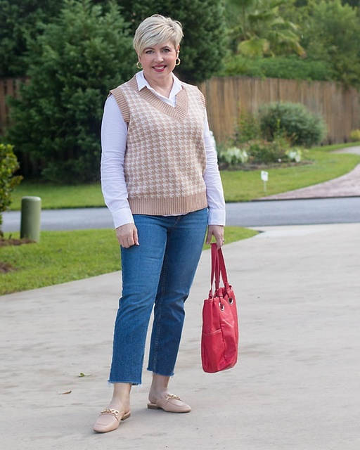 Fall jeans outfits #ShopStyle #MyShopStyle #jeansoutfit #fashionover40