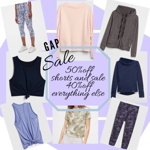 shorts. Code: SHOP40 for 40% off everything else!! Select markdowns are 50% off with code: MORESALE! Give me all the deals!!