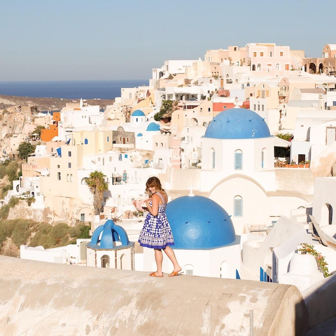 Peek-a-blue #ootd #astudyinchic #travelstyle #greece #santorini #ssCollective #ShopStyleCollective #MyShopStyle #summerstyle #wearitloveit #lookoftheday #getthelook #mylook